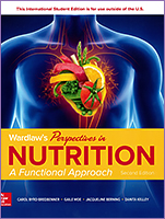 Wardlaw's Perspectives in Nutrition:A Functional Approach 2/e 2019